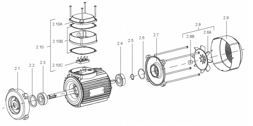 iL деталировка мотора