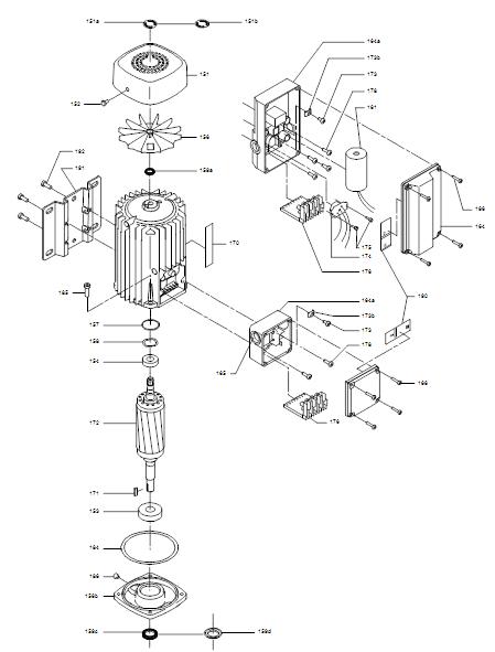 CR деталировка мотора