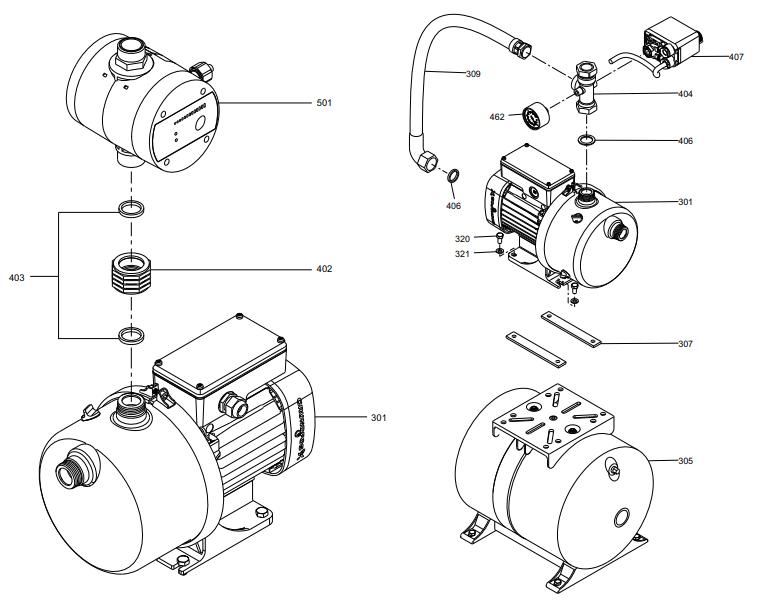 JP booster деталировка