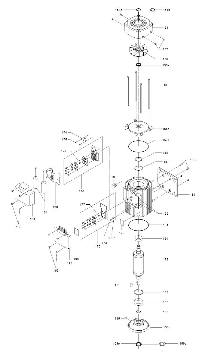 TP деталировка мотора