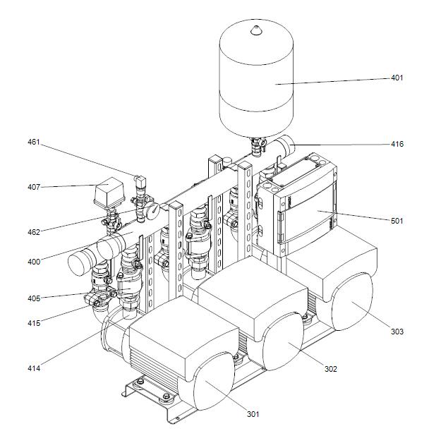 Hidro Multi E деталировка c CM