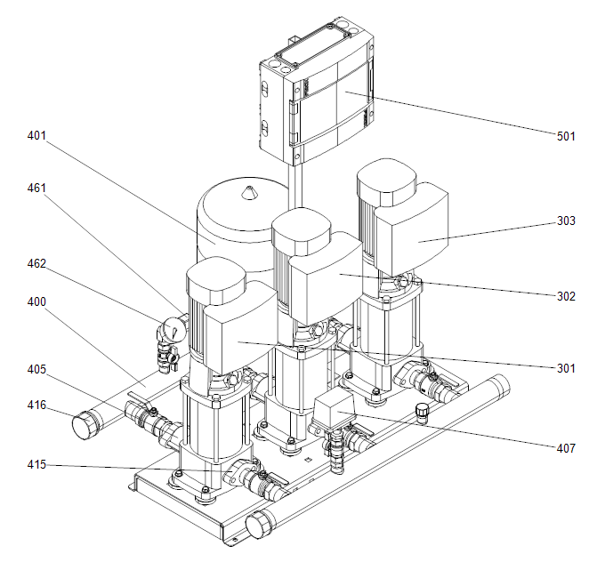 Hidro Multi E деталировка