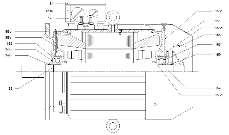 LP деталировка мотора