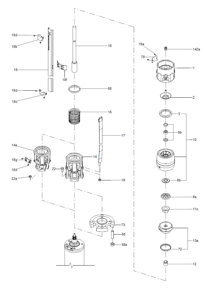 SP деталировка