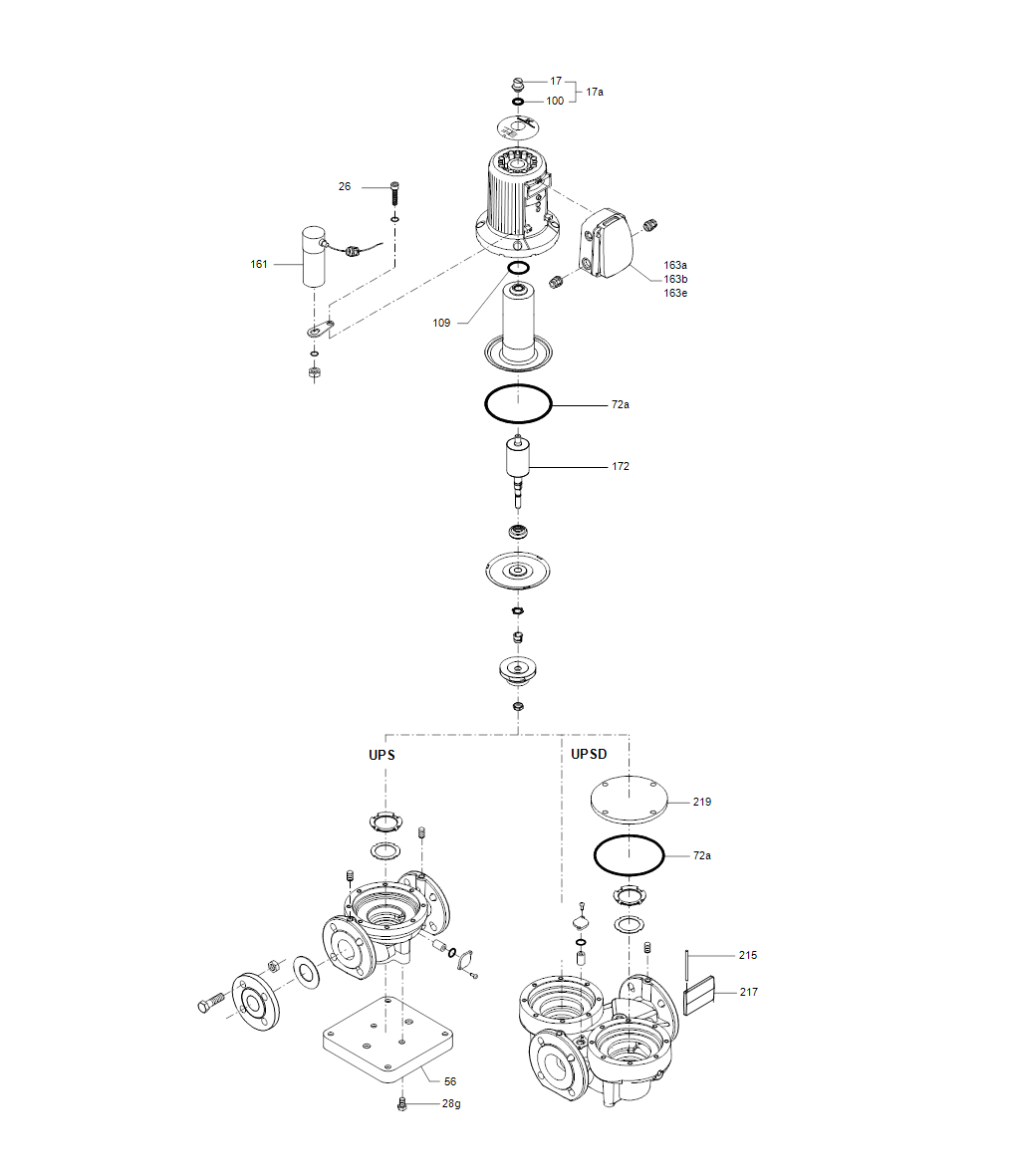 UPS деталировка